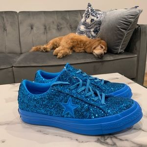 Converse One Star After Party Blue Women's Sz 7.5